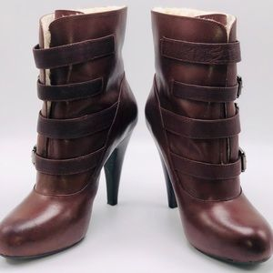 Gianni Bini Shoes - NWOT- Gianna Bini ankle boots w/ buckle straps